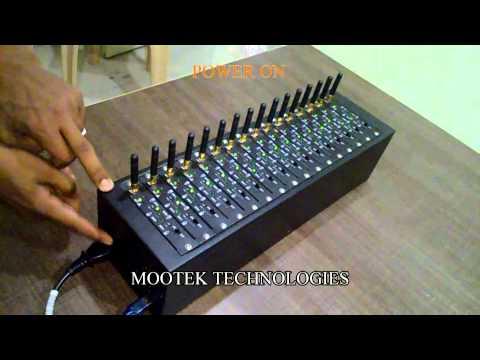 Bulk SMS Modem - Automatic SIM Rotation Bulk SMS Modem 16Port 64SIM BULK SMS Modem