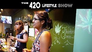 The 420 Lifestyle with Carly Marley: Davie's Dope Lounge by Pot TV