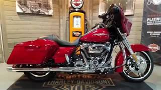 5. 2018 Harley-Davidson Street Glide FLHX-wicked red