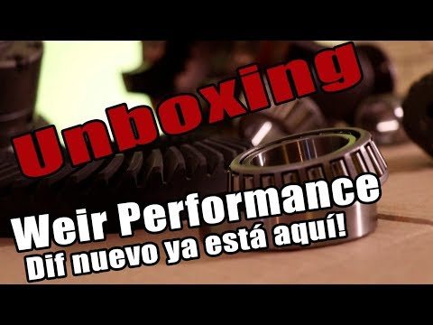 Unboxing Weir Performance Parts, Y Dif TRD Nuevo! TODO LISTO!