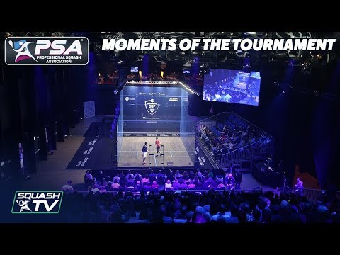 Squash: Moments of the Tournament - Grasshopper Cup 2019