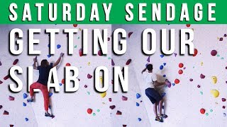 Saturday Sendage; Slab Preparation for Student Nationals (NSKB) - Episode 16 at Gropo Bouldergym by Verticalife