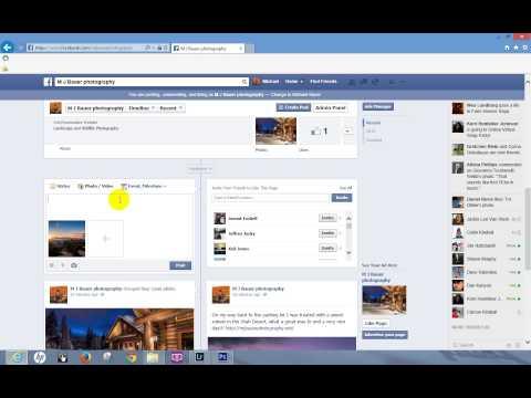 how to provide facebook link on website