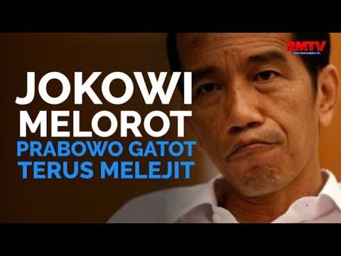 Jokowi Melorot, Prabowo Gatot Terus Melejit