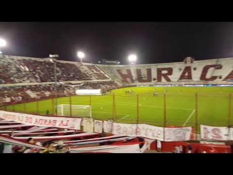 Entrada del equipo de Huracán contra Quilmes 09/09/2016 - La Banda de la Quema - Huracán