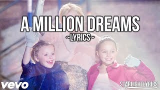 The Greatest Showman - A Million Dreams (Reprise) (Lyric Video) HD