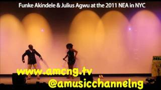 Funke Akindele And Julius Agwu @ 2011 Nea