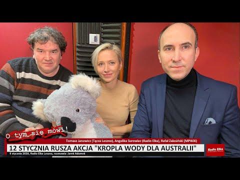 Wideo1: O tym się mówi: Kropla wody dla Australii