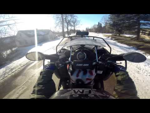 Can Am Outlander 800 Wheelie