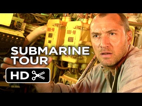Black Sea - EXCLUSIVE Submarine Tour (2015) - Jude Law Movie HD thumbnail