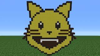 Minecraft Tutorial: How To Make A Cat Emoji