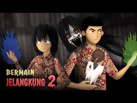 Bermain Jelangkung 2 | Kartun Lucu, Animasi Hantu & Horror Indonesia - Rizky Riplay