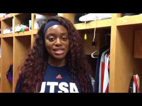 Stafford High Graduate Christine Egu is excelling at UT San Antonio