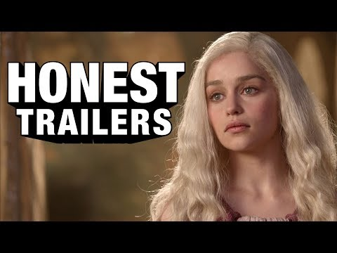 Game of Thrones- Honest trailers.