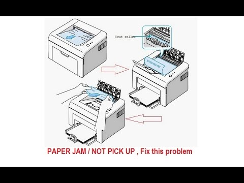 PAPER JAM / NOT PICK UP , Fix this problem