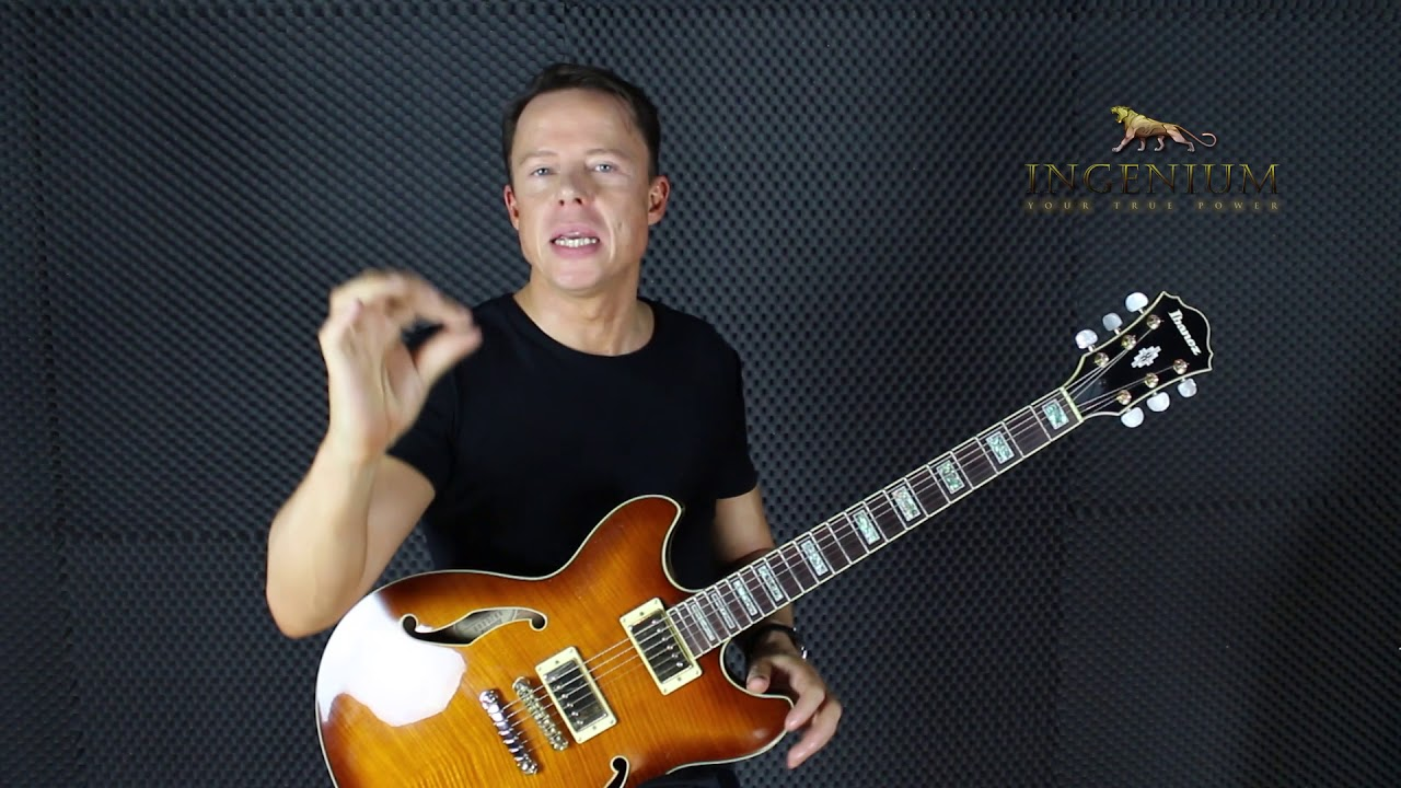 Pinky on body anchoring and picking – Guitar mastery lesson