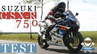 8. POÅ»ERACZ KLASY 600 ccm! Suzuki GSX-R 750 k4 - k5 ( 2004 - 2005)