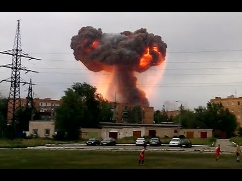 Russia's - Large explosions rock an ammunition depot in Russia's Samara Region, where over 13 million shells are stored. Over 500 firefighters are combatting the blaze ...