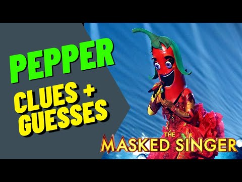 Pepper Performance, Clues and Guesses - Masked Singer - Episode 6