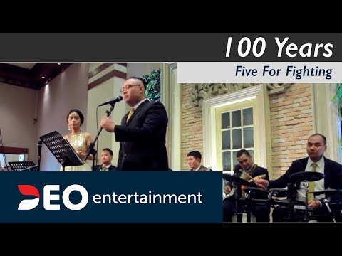 100 Years -  Five For Fighting At Balai Kartini Jakarta | Cover By Deo Entertainment