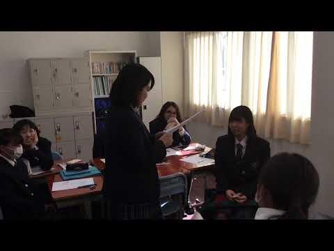 国際コース 国際教養授業①