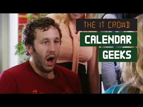The IT Crowd | Roy & The Nude Calendar | Calendar Geeks Series 3 Episode 6