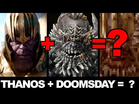 CHARACTER MASHUP! -  THANOS & DOOMSDAY!