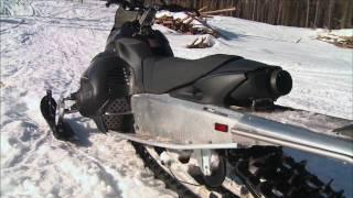 4. SnowTrax Rides Yamaha's 2010 Nytro MTX