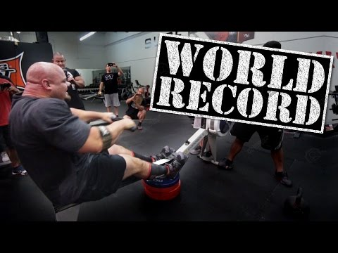 World's Strongest Man Attempts 100M Rowing Record on a Whim