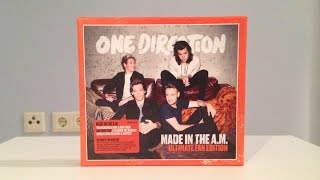 One Direction - Made In The A.M. (Ultimate Fan Edition) (Unboxing) HD