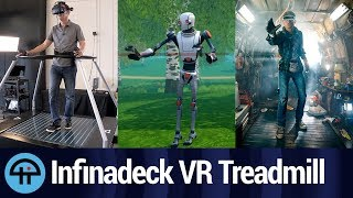 Video Infinadeck - 'Ready Player One' VR Treadmill MP3, 3GP, MP4, WEBM, AVI, FLV Juli 2018