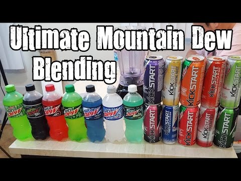 Ultimate Mountain Dew Blending - Blendurrr (видео)