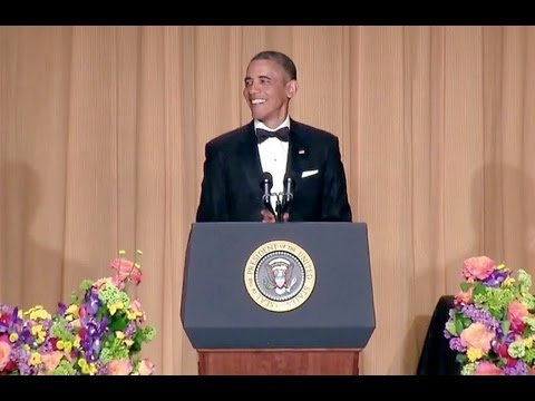 House - President Obama at the 2013 White House Correspondents' Association Dinner in Washington, D.C. April 27, 2013.