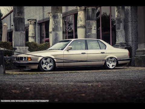 MikeCrawatPhotography: BMW E32 730i - AccuAir Suspension - 3SDM Wheels
