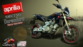 9. Aprilia SMV750 Dorsoduro '10 bike review - 2WheelsEurope HD