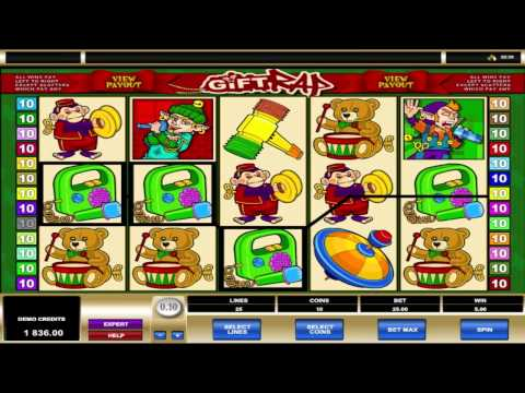 Gift Rap ™ free slots machine game preview by Slotozilla.com
