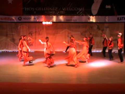 26 İnegöl Belediyesi Uluslararası Kültür Sanat Festivali Halk Dansları Gösterisi Arnavutluk