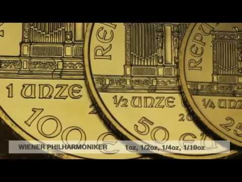Europäische Goldmünze