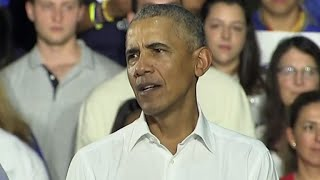 Video Obama campaigns for Democrats in Florida MP3, 3GP, MP4, WEBM, AVI, FLV November 2018