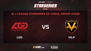 LGD vs VG.Potential, Game 3, SL i-League StarSeries Season 3, China