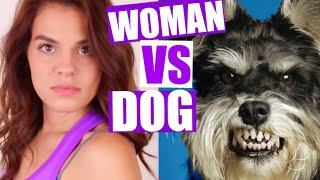 Video WOMAN vs. DOG MP3, 3GP, MP4, WEBM, AVI, FLV Oktober 2018
