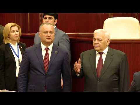 Președintele țării, Igor Dodon a avut o întrevedere cu preşedintele Milli Majlisului (Adunării Naţionale) a Azerbaidjanului, Oqtay Asadov