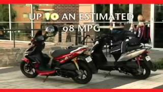 10. Kymco Scooter 2011