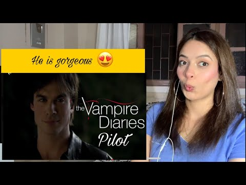 The Vampire Diaries - 1x1'Pilot' |♡First time Reaction&Review♡