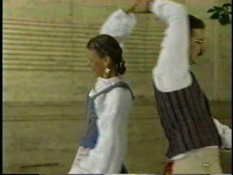 Swedish dance: Hambopolska from Föllinge