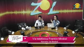 Llamada de Franklin Mirabal comenta participación como narrador de béisbol Dominicano