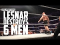 Brock Lesnar Destroys 6 Men At Dallas Live Event VIDEO waptubes