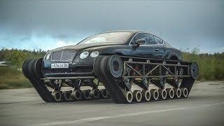 Самый быстрый гусеничный вездеход в мире. Bentley Ultratank.