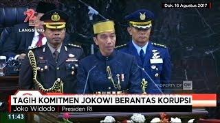 Di depan Sidang Dengan Parlemen pada Rabu Lalu, Presiden Joko Widodo Mengungkapkan Komitmennya dan Mengajak Semua Elemen Bangsa untuk Mengedepankan Upaya Pemberantasan Korupsi di Negara ini.Secara Spesifik, Presiden Joko Widodo juga menyebutkan Perlunya Menguatkan KPK. Melihat Realita yang Ada, Sudah Cukupkah Pernyataan Presiden Joko Widodo ini?? CNN Indonesia Prime News akan membahasnya dalam dialog khas, dengan menghadirkan Ifdhal Kasim,Tenaga Ahli Utama Deputi V Kantor Staf Kepresidenan, Julius Ibrani Koalisi Tolak Hak Angket KPKMerdeka dalam Bhinneka adalah tema CNN Indonesia dalam perayaan ulang tahun kemerdekaan RI ke 72 atau kita bisa menyambutnya dengan Dirgahayu RI ke 72.  Merdeka dalam Bhinneka merupakan simbol kecintaan CNN Indonesia terhadap Indonesia sebagai tanah air dan bangsa yang berdaulat dan merdeka. Dirgahayu RI ke 72 di tahun 2017 ini. Ikuti berita terbaru di tahun 2017 dengan kemasan internasional berbahasa Indonesia, dan jangan ketinggalan breaking news 2017 dengan berita terakhir dan live report CNN Indonesia di https://www.cnnindonesia.com dan channel CNN Indonesia di Transvision. Follow & Mention Twitter kami :@myTranstweet@cnniddaily@cnnidconnected @cnnidinsight @cnnindonesia Like & Follow Facebook:CNN IndonesiaFollow IG: cnnindonesia