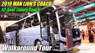 Video 2019 MAN Lion's Coach 52 Seat Bus - Exterior and Interior Walkaround - 2019 IAA Hannover MP3, 3GP, MP4, WEBM, AVI, FLV November 2018